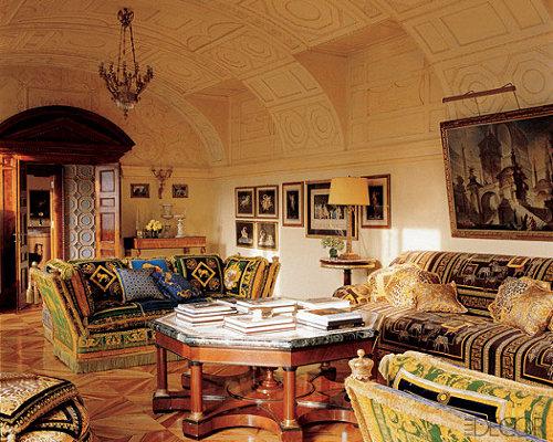Celebrity Homes Donatella Versace