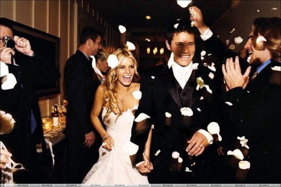 Jessica Simpson's Gorgeous Wedding Hairstyle
