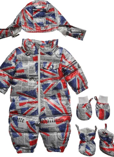 Gazette Print Down Snowsuit