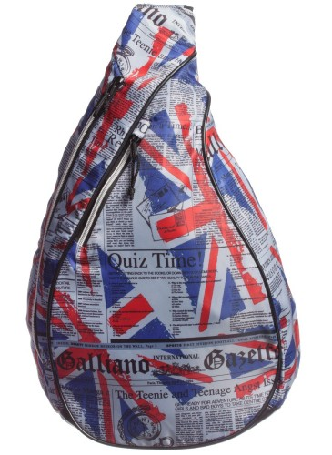 Union Jack Gazette Print Bag
