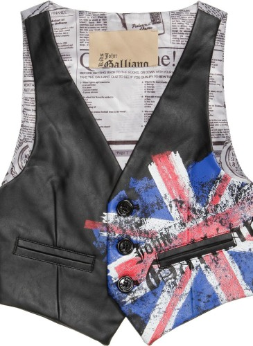 Union Jack and Gazette Waistcoat