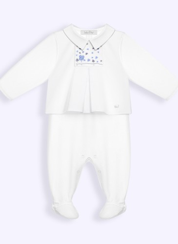cotton poplin smock pyjamas