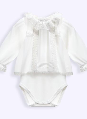 cotton voile bodysuit