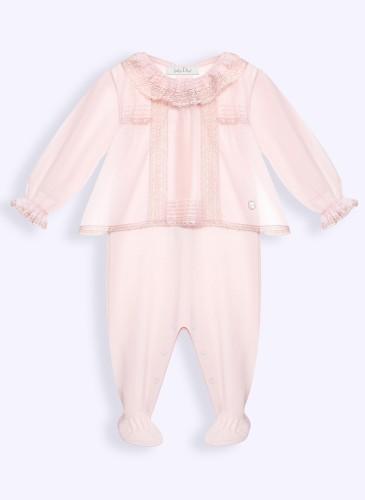 cotton voile smock pyjamas 1