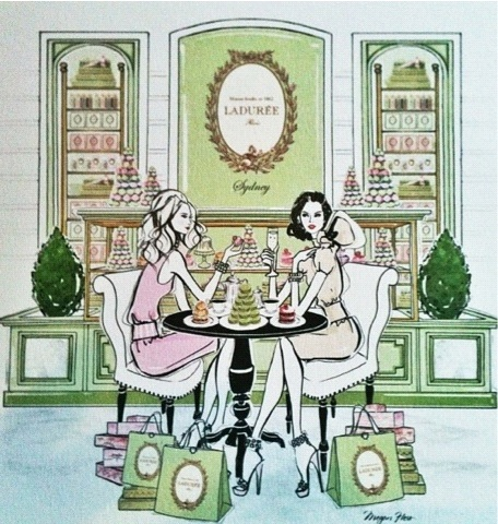 megan hess laduree