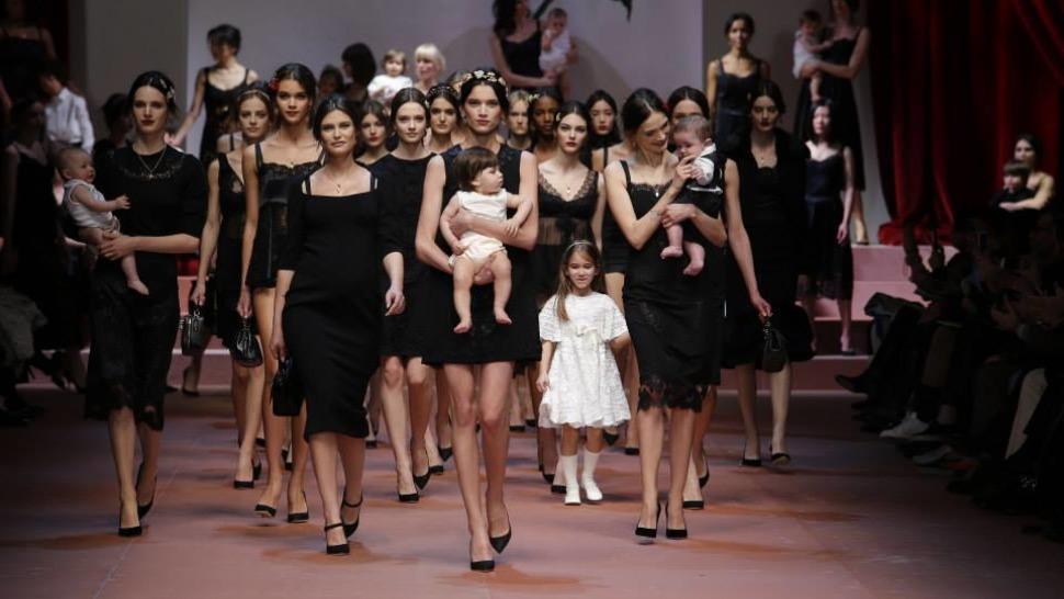 Dolce & Gabbana Mother's Day Tribute: Viva la Mamma