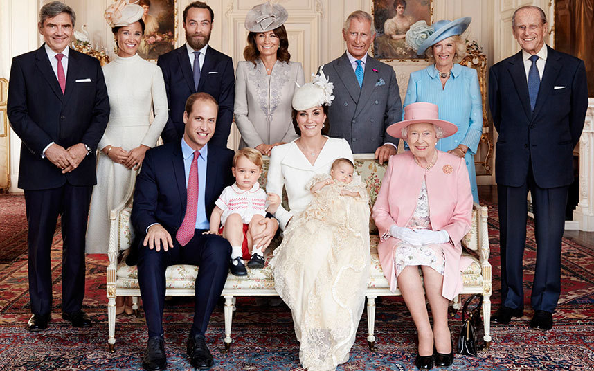 The Babtism of Princess Charlotte