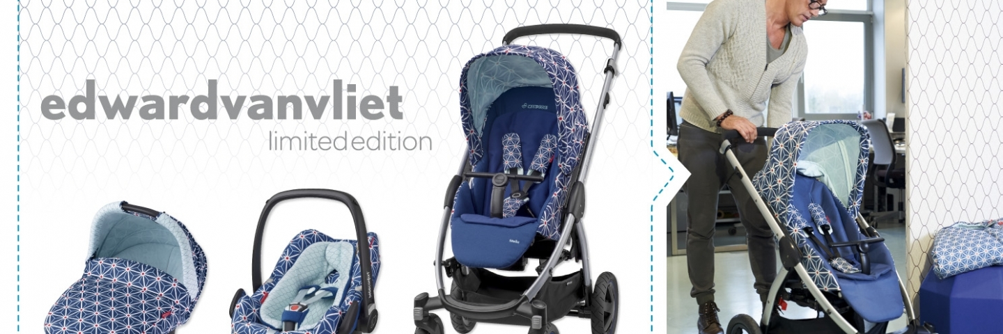 New Stunning Maxi Cosi & Bébé Confort Limited Edition Strollers designed by Edward van Vliet