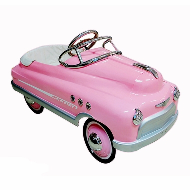 Airflow Collectibles Pink Comet Pedal Car $289.00 Get it here: http://www.happymothers.net/airflow-collectibles-pink-comet-pedal-car.html