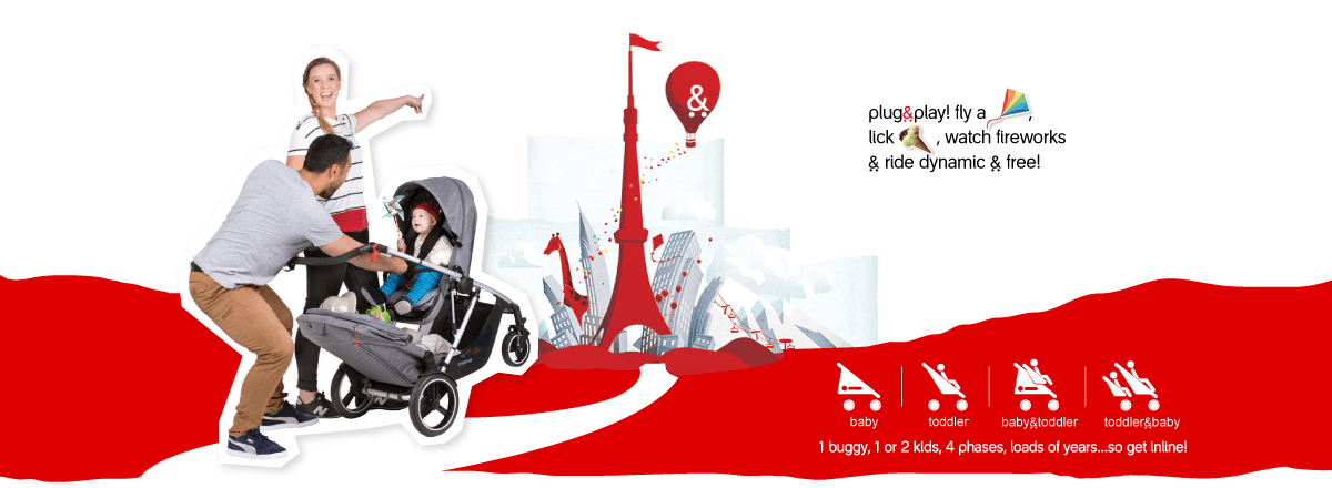 Voyager, a great new all-terrain buggy from phil&teds