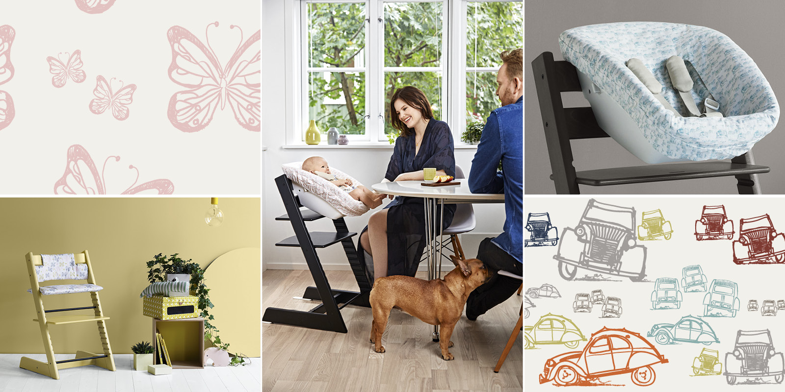 Stokke Tripp Trapp With New Exciting Colors