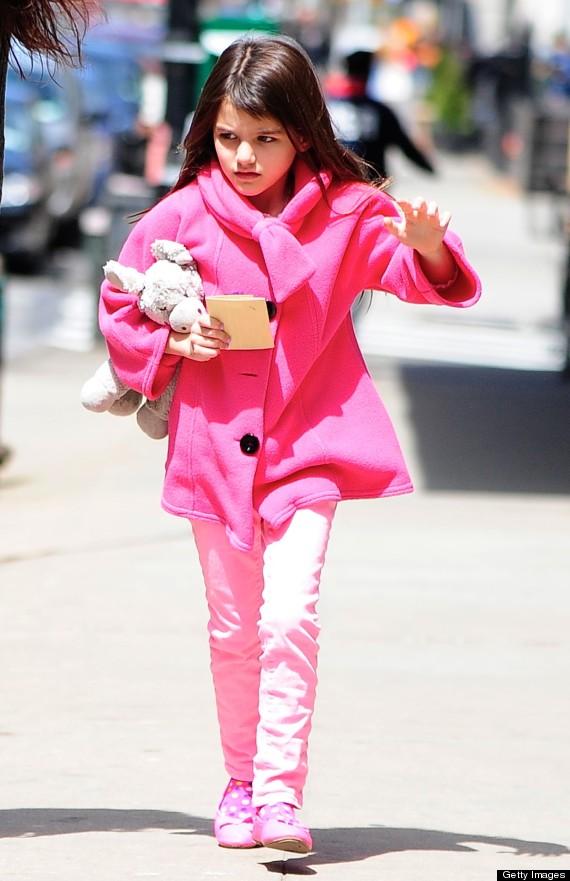 Celebrity Sightings In New York City - April 20, 2013
