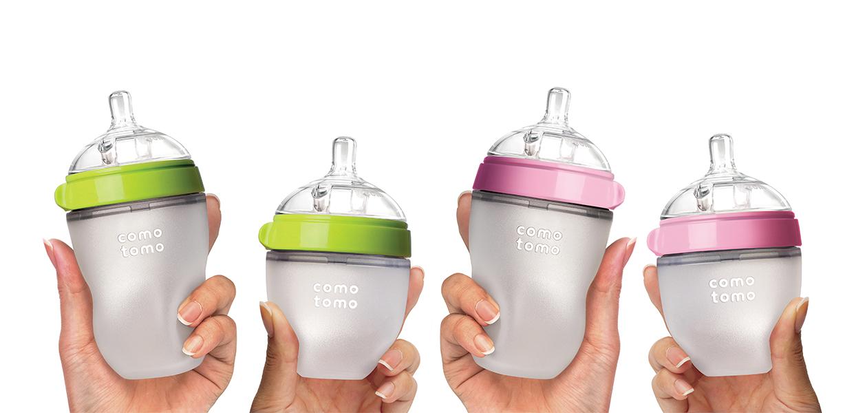 Awards winner – Comotomo innovative baby bottle