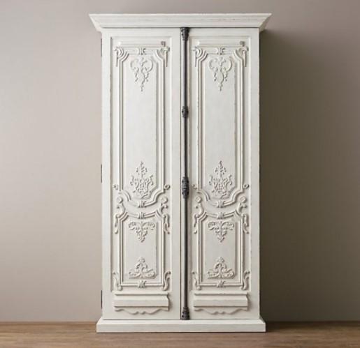 19th c. Rococo Armoire-RH