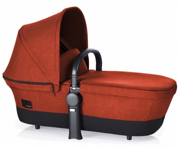 Cybex Priam Carry Cot in Autumn Gold