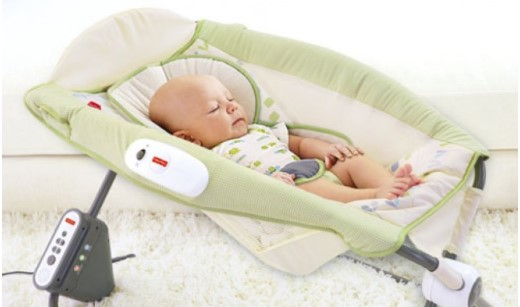 Fisher Price Deluxe Auto Rock 'n Play™ Sleeper – Geo Dream
