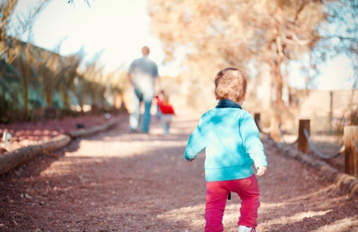 Child First Walk