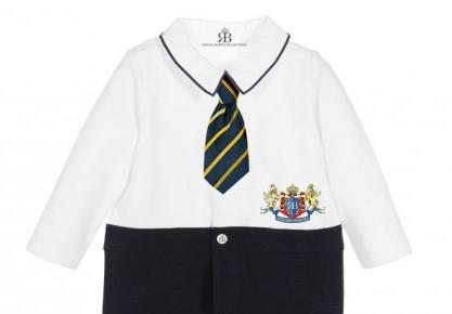 Royal Baby Collection Boys Babygrow