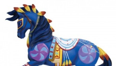 Trail of painted ponies The Guardian