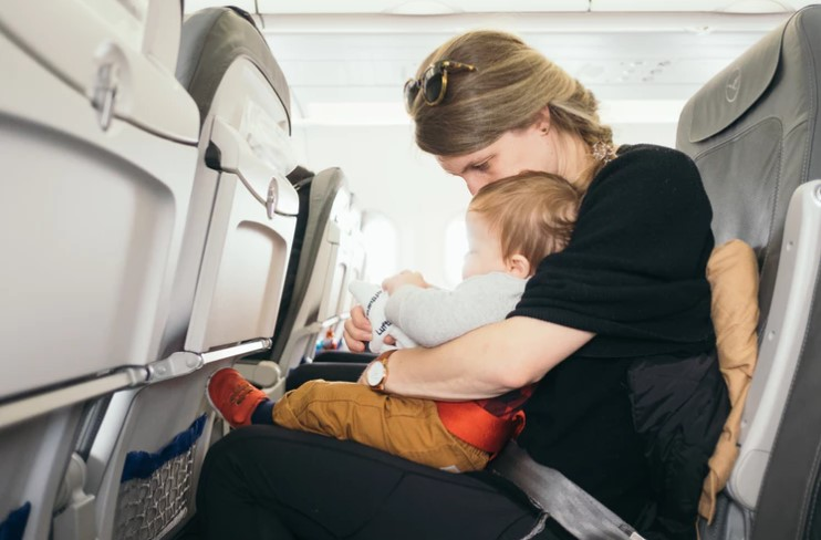 Taking your baby on a plane