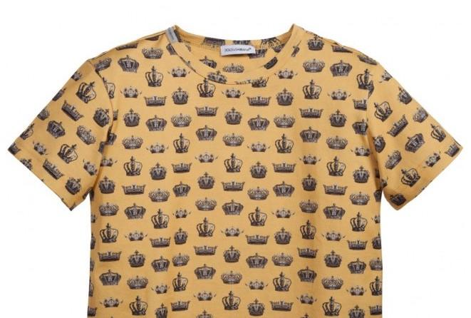 DOLCE & GABBANA 'Crown' T-Shirt
