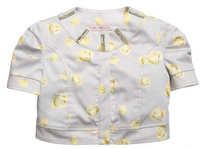 MISS BLUMARINE Grey Bolero Jacket