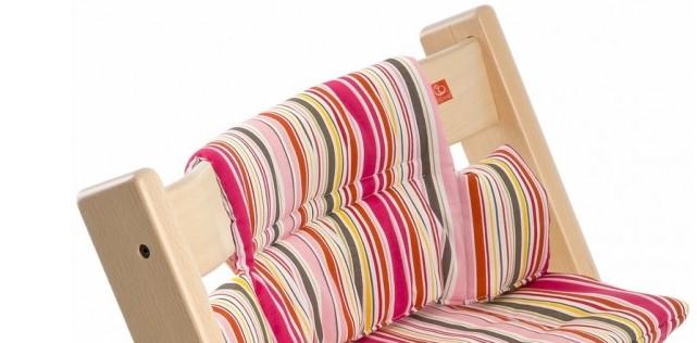 Stokke Tripp Trapp Cushion in Candy Stripe