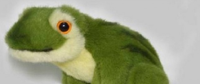 Hansa Toys Green Frog
