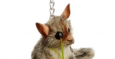Hansa Toys Possum Keychain