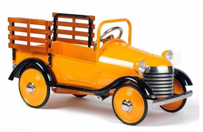 Airflow Collectibles Burnt Orange Pedal Truck