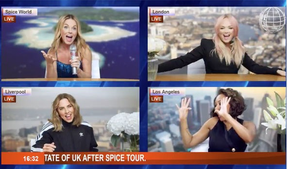 Spice Girls tour 2019