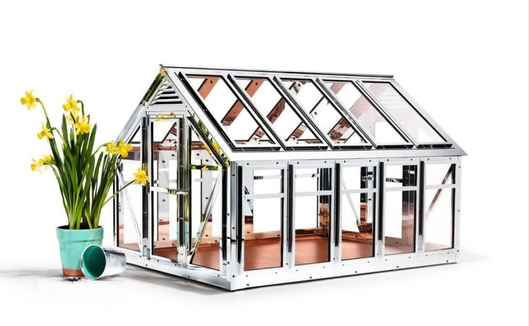Tiffany & Co's sterling silver greenhouse