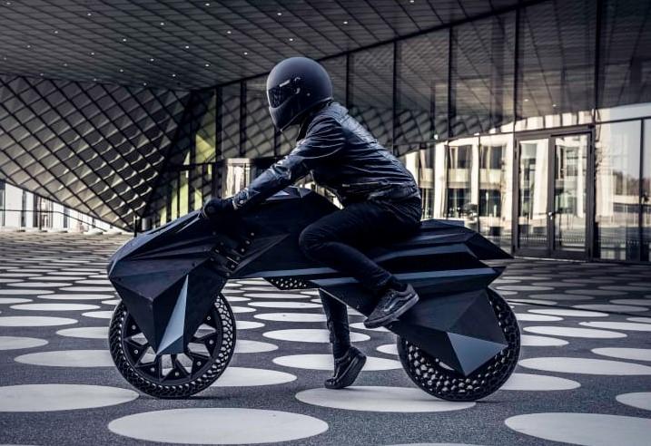 NOWlab's 3D-printed motorbike