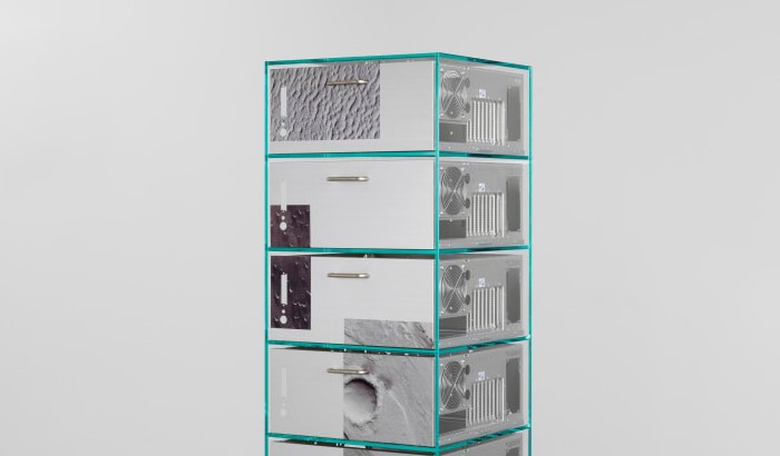 FormaFantasma's Ore Streams furniture collection