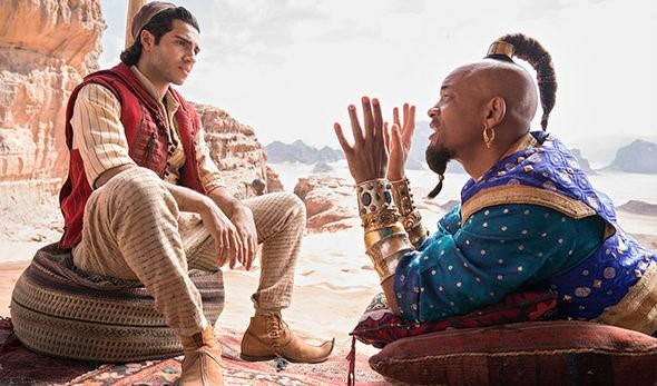 Aladdin cast Will Smith plays the Genie but what actors play Aladdin and Jasmine