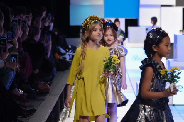 CREATIVITY ON STAGE. THE KIDZFIZZ CATWALK SHOW
