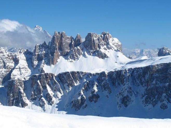 Going on a Ski Safari in the Dolomites