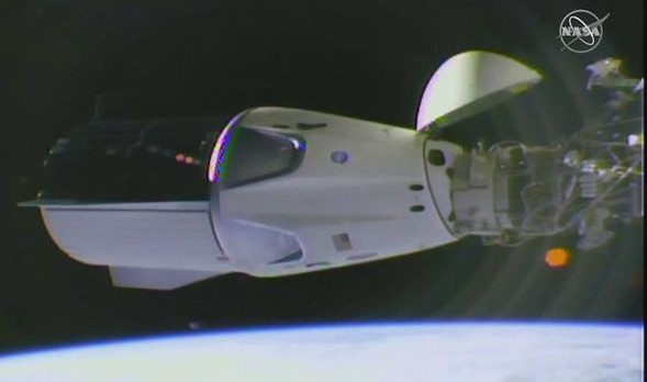 SpaceX Dragon capsule completes ISS docking in major breakthrough for NASA space programme