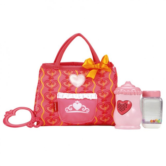 Fisher Price Princess Mommy Care & Carry Tote