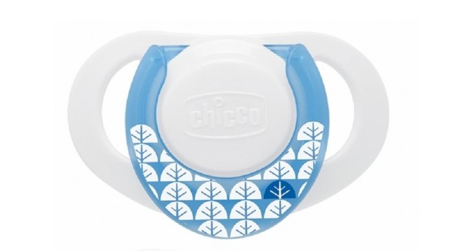 Chicco Hard Shield Orthodontic Pacifiers – Blue – 0M+