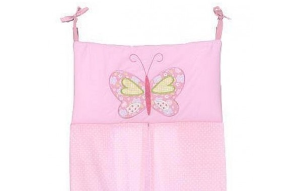 Crown Crafts Babies R Us Olivia Diaper Stacker