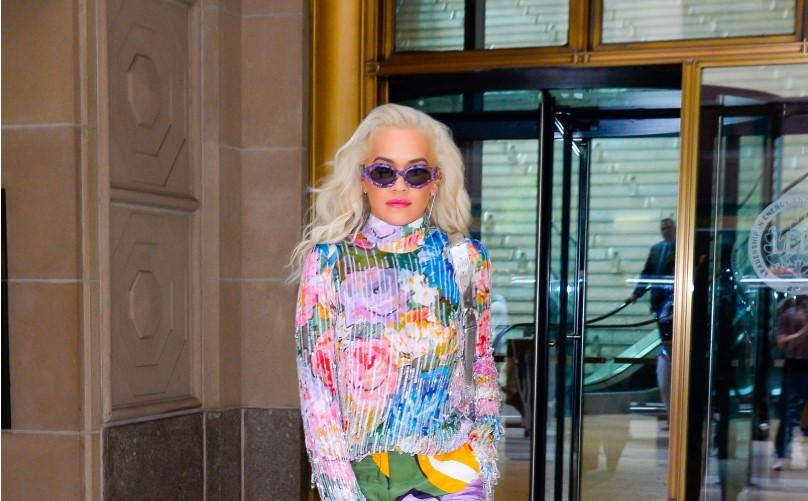 Rita Ora Gives Spring Florals a Modern Makeover