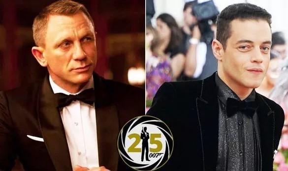 James Bond 25 villain Rami Malek updates on 'very TAXING' shoot, praising Daniel Craig