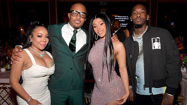 T.I. & Tiny Enjoy Night Out With Cardi B & Offset At ASCAP Rhythm & Soul Awards