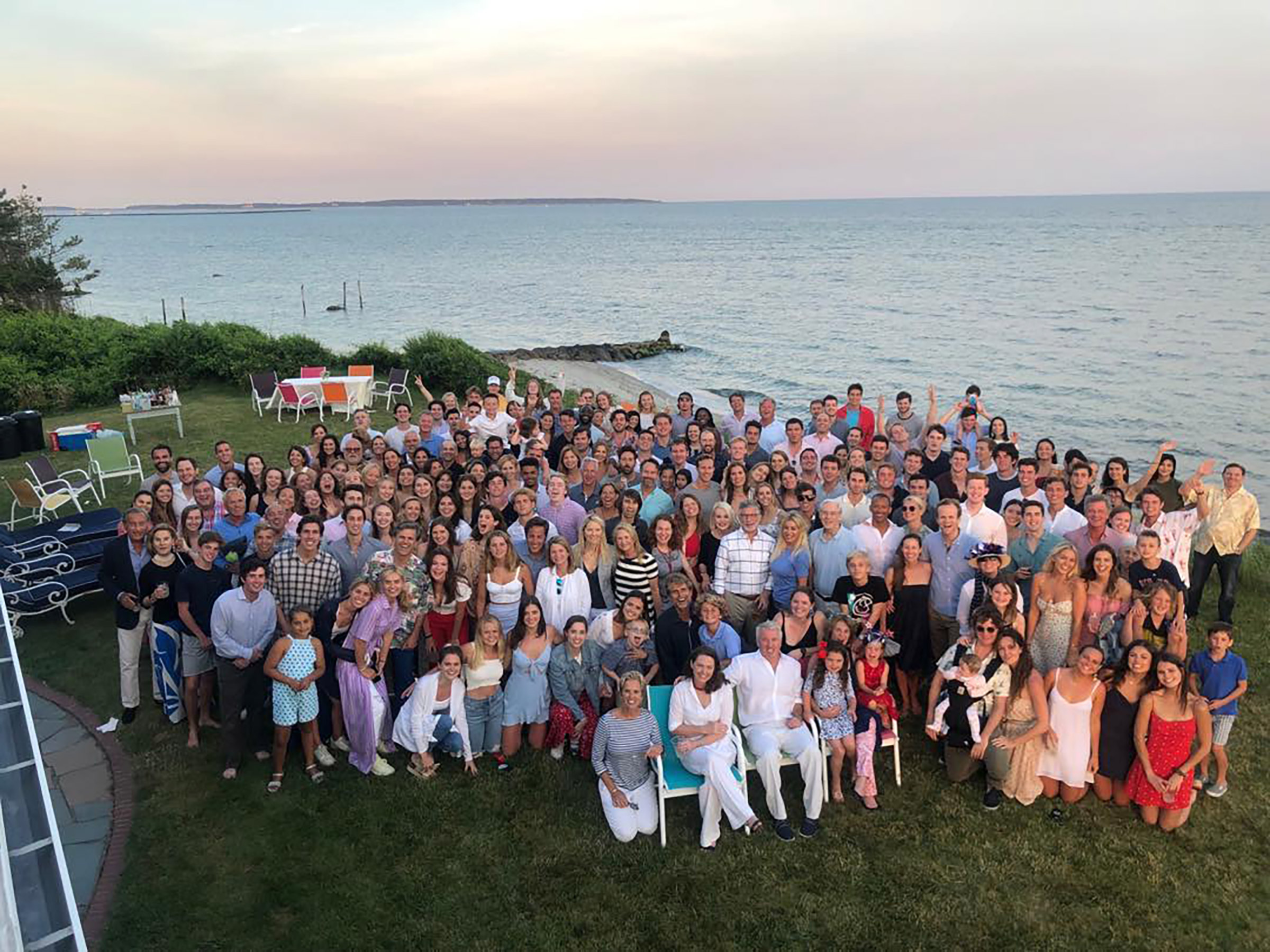 Chris Pratt Joins in Giant Kennedy Family Photo — and Becomes a Perfect Instagram Husband