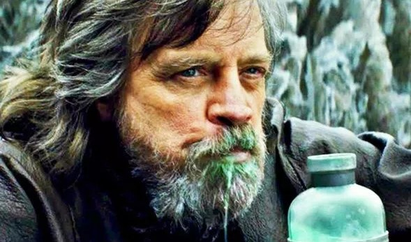 Star Wars 'Blue milk made me GAG' says Mark Hamill – BUT here's what Last Jedi's was like