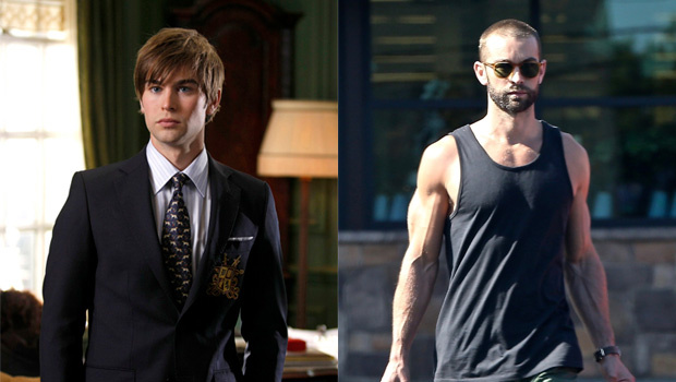 Chace Crawford Debuts Massive Muscle Gains After 'Gossip Girl' Reboot News Before & After Pics