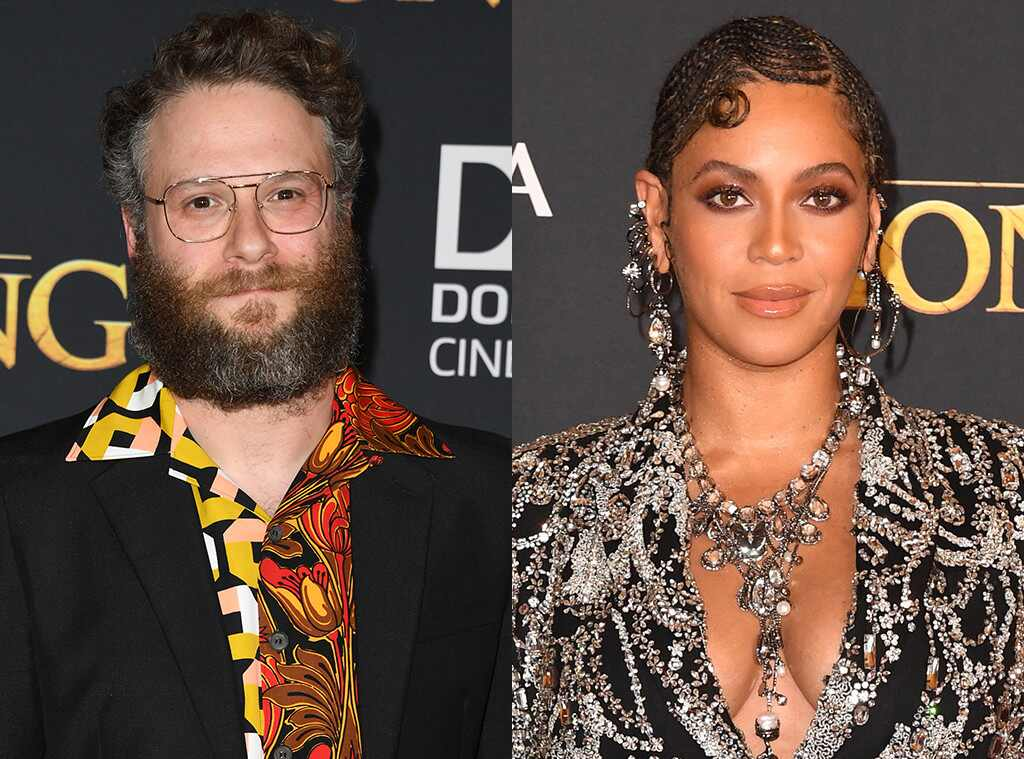 Seth Rogen Says Beyoncé Got a Standing Ovation at The Lion King Premiere for Just Existing
