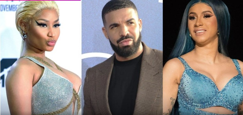 Nicki Minaj Fans Go Off On Drake After He Surprises Crowd With Her Nemesis Cardi B At OVO Fest