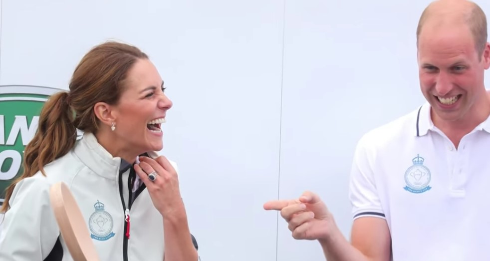 Kate Middleton and Prince William Face Off in First King's Cup Charity Race